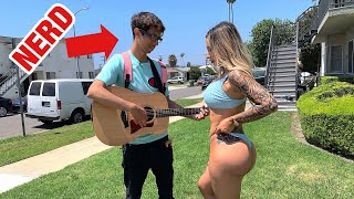 Download Nerd Picks Up Girls With Amazing Voice! Mp3 and Videos