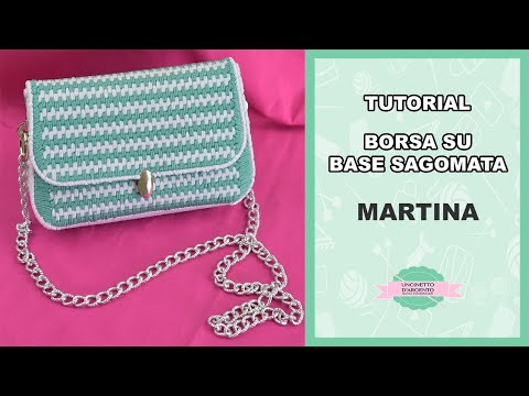 "Tutorial crochet bag ""MARTINA"" 