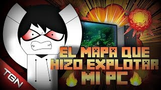 MINECRAFT: EL MAPA QUE HIZO EXPLOTAR MI PC