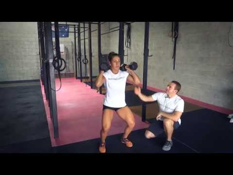 Dumbbell Clean And Jerk (Exercises.com.au)