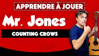 Mr. Jones des Counting Crows - guitare tuto