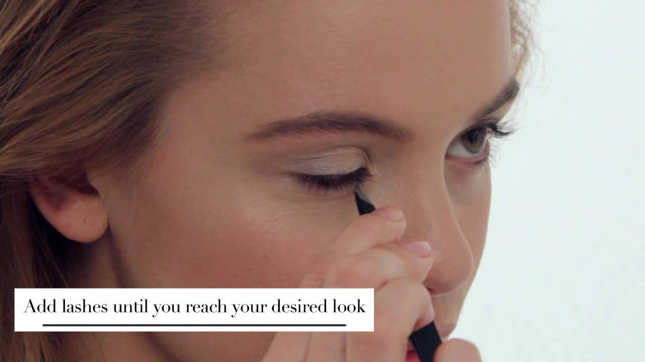 Eylure How To Apply Individual Lashes Youtube