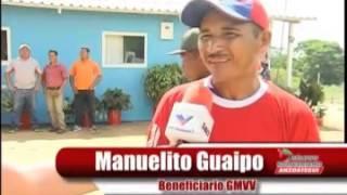 Gran Misión Vivienda Venezuela Dignifica a Familias del Municipio Independencia