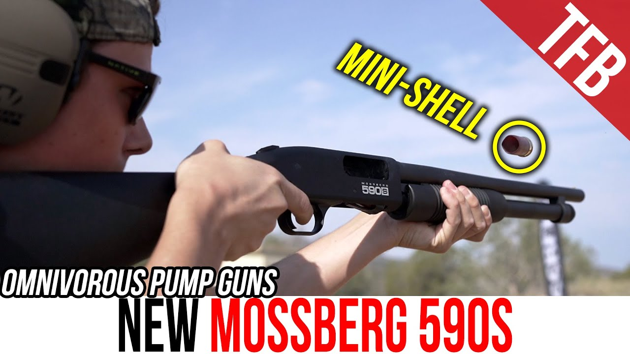 The NEW Mossberg 590S Eats Anything