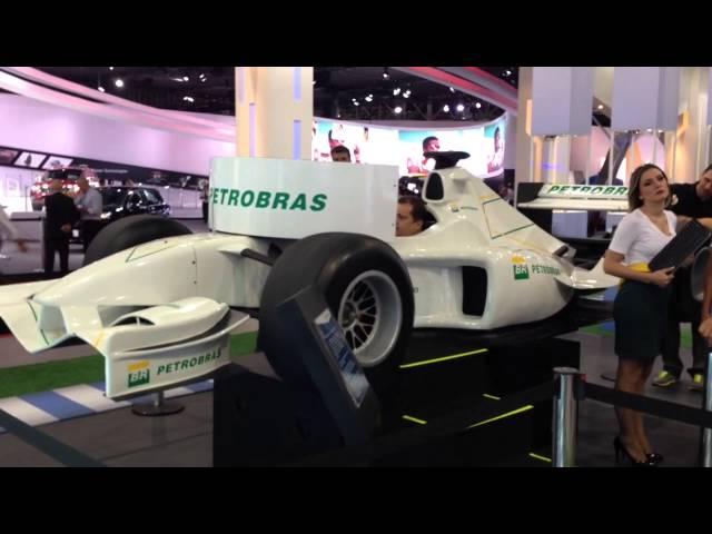 Salão do Automóvel 2014 - Simulador de F1