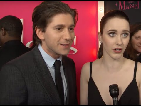 Miriam &39;Midge&39; Maisel Rachel Brosnahan & Joel Maisel Michael Zegen On The Marvelous Mrs Maisel