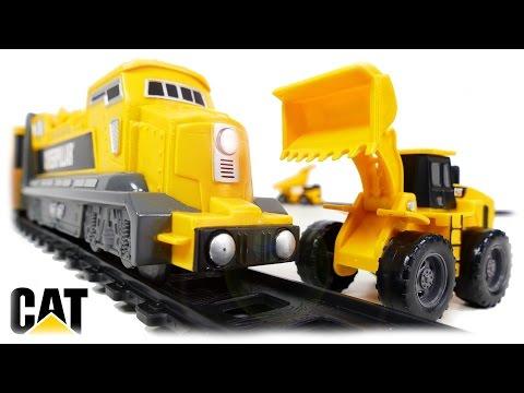 CAT Playset Freight Train