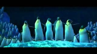 """Somebody to Love"" Happy Feet clip"