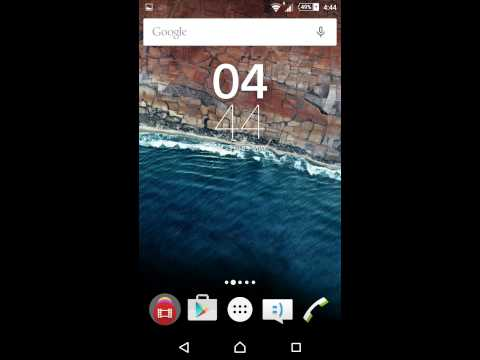 Official Android M Launcher For Lollipop Devices