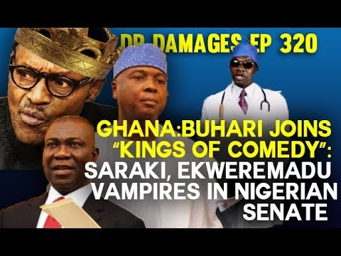"Dr. Damages Show – Ep. 320:  Buhari Joins ""Kings Of Comedy,"