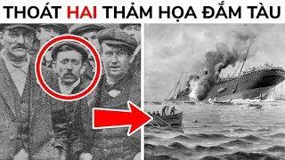 Thủy thủ duy nhất sống sót sau thảm họa Titanic và Lusitania