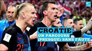 Mondial : le parcours (presque) sans faute de la Croatie