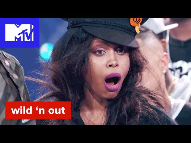 Erykah Badu's LSD Hat Stands For Long Slim D*ck? | Wild 'N Out | #Wildstyle