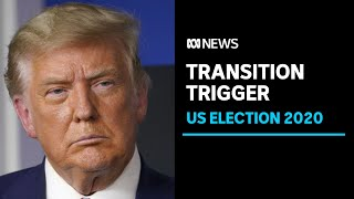 Donald Trump clears the way for the transition of power to Joe Biden | ABC News