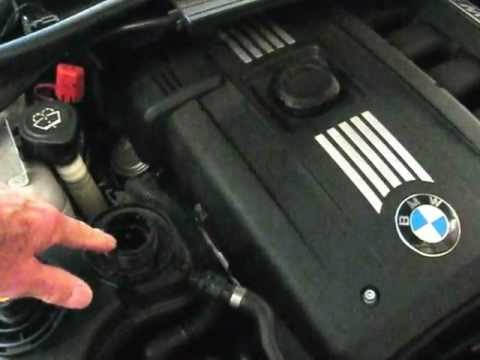 BMW adding coolant  low coolant warning light by froggy  YouTube