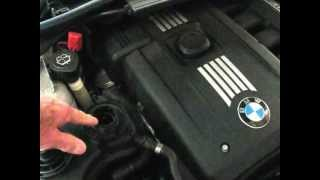BMW adding coolant - low coolant warning light by froggy