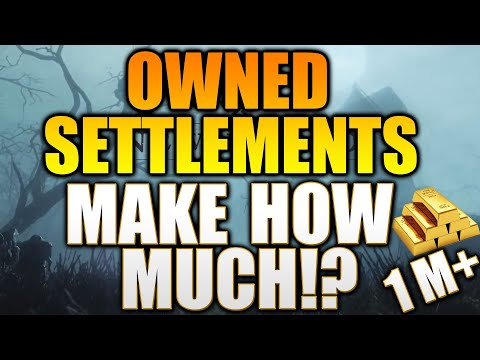 Owned Settlements - MAKE HOW MUCH GOLD? - New World Settlement Guide - New World Everfall Settlement