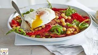 Roast pepper and chorizo salad