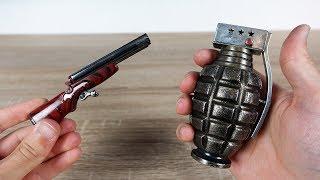 21 außergewöhnliche und interessante Feuerzeuge die ich auf Ebay ersteigert habe!