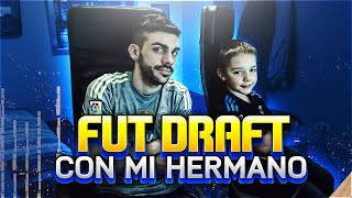 FUT DRAFT CON MI HERMANO !!!