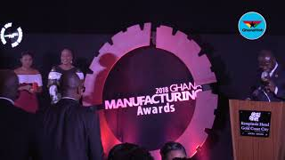 2018 Ghana Manufacturing Awards: Dr Ernest Ofori-Sarpong wins Leadership and Strategy Award