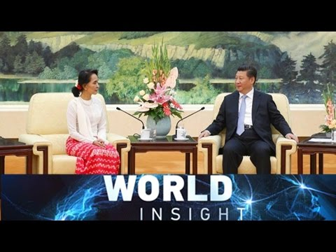 World Insight— Aung San Suu Kyi in China; Guantanamo Bay 08/18/2016