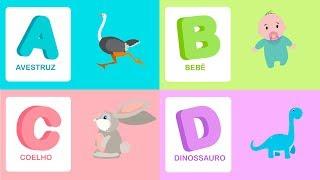 Alfabeto e palavras - Vamos aprender o alfabeto