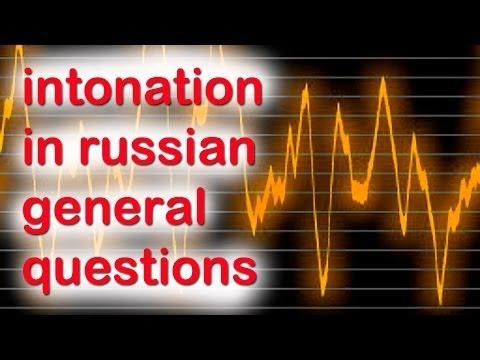 Learn intonation in russian general questions Part 3
