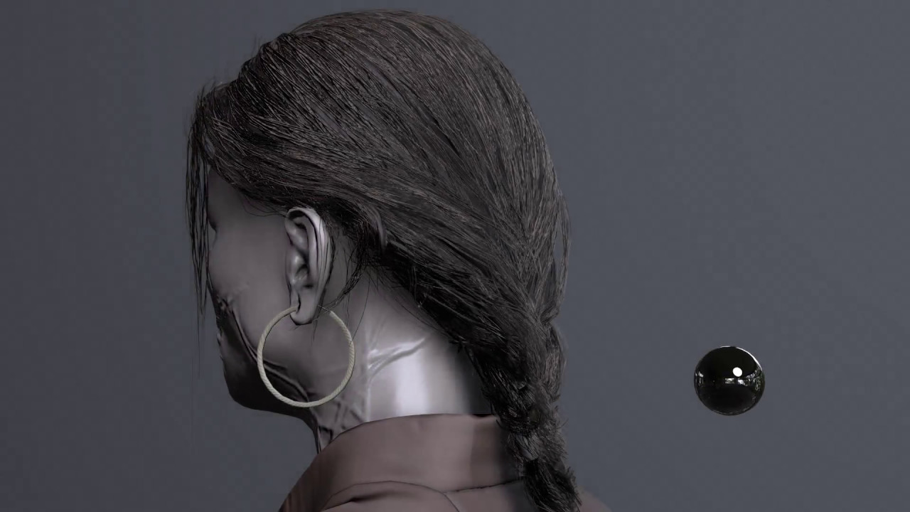 hair cards in 3ds max