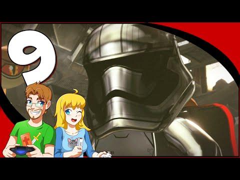 LEGO Star Wars The Force Awakens - Part 9 Starkiller Sabotage (HD) coop Gameplay