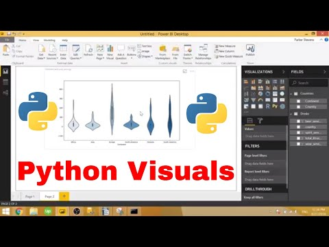 Power BI - Introduction to Python Visuals