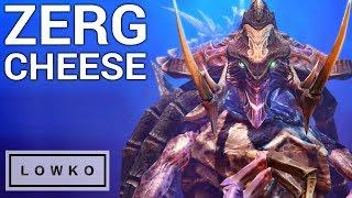 StarCraft 2: DISGUSTING ZERG CHEESE!