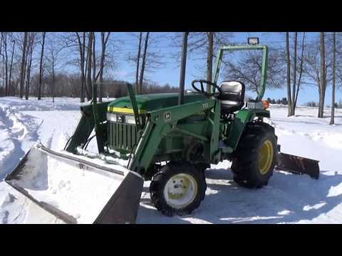John Deere 770 Review Channel CGE Video YouTube