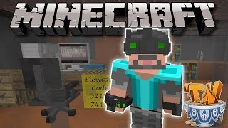 Minecraft: X-RAY VISION UPGRADE! - The Heist Custom Map [3]