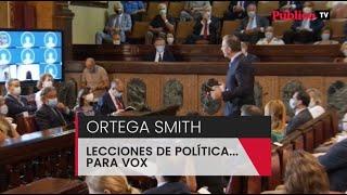 Las lecciones de política de Ortega Smith que podría aplicarse Vox