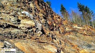 Huge Quarry With Oxidized & Mineralized Argillitic Veins! thumbnail