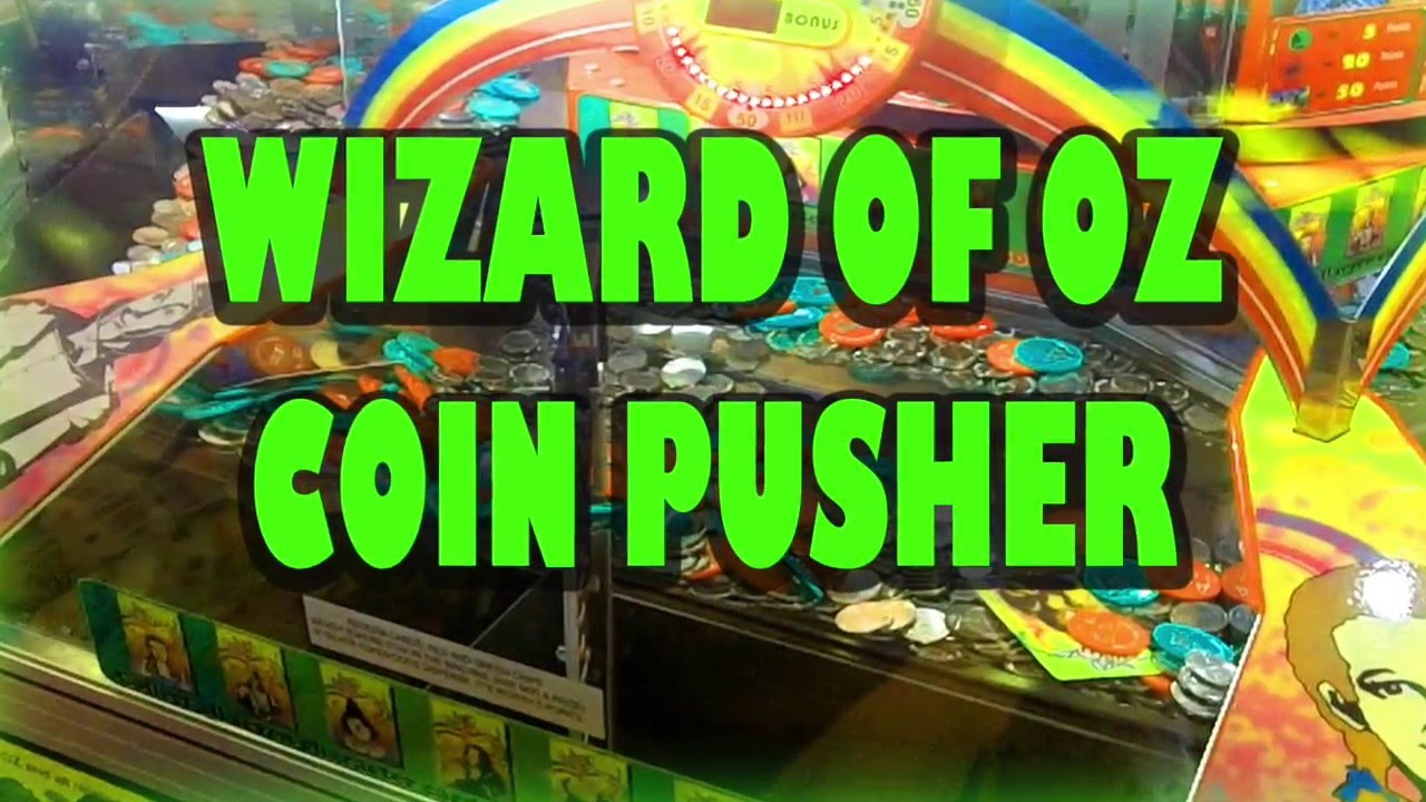 Wizard Of Oz Coin Pusher Gameplay Chips, Chips ,and More Chips