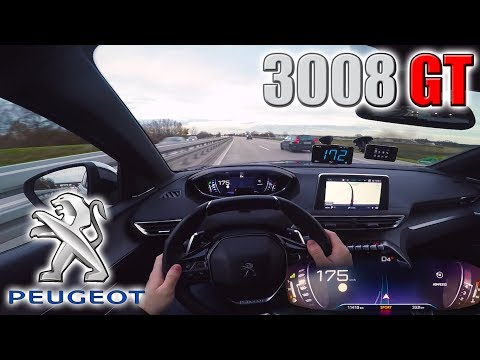 peugeot-3008-gt-|-pushing-on-german-autobahn✔