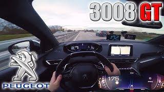 Peugeot 3008 GT   Pushing on German Autobahn✔