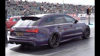 751bhp Audi RS6 1/4 Mile 11.17 @ 125mph