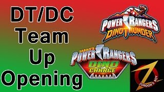 Dino Thunder Dino Charge Team Up Opening