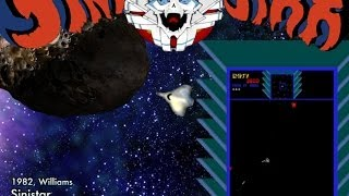 Sinistar (Arcade) - Game Play