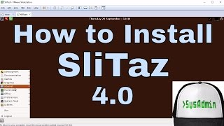 How to Install SliTaz 4.0 + Review + VMware Tools on VMware Workstation Easy Tutorial [HD]
