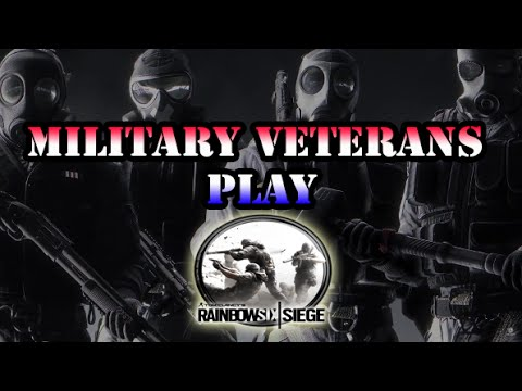 Military Veterans Play Rainbow Six Siege