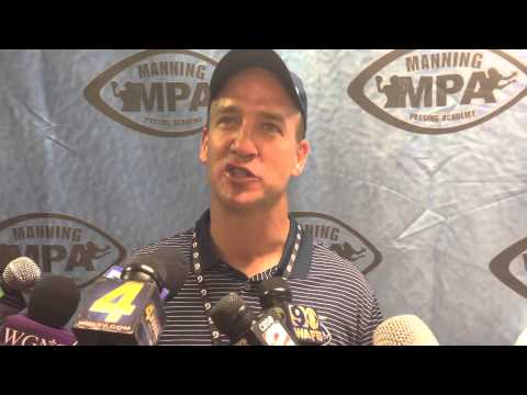 Peyton Manning discusses how the Manning Passing Academy has evolved for different offenses