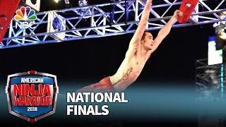 Thomas Stillings at the National Finals: Stage 1 - American Ninja Warrior 2016