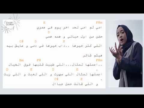 Nissa Sabyan - Chord Ummi Summa Ummi || Sabyan gambus