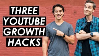 How to Get More Views on YouTube — 3 YouTube Growth Hacks