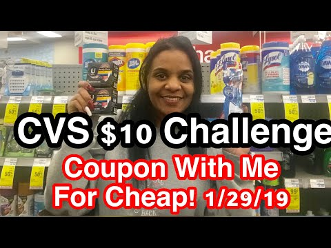 CVS $10 Challenge 1/27/19-2/1/19 - Couponing With Toni