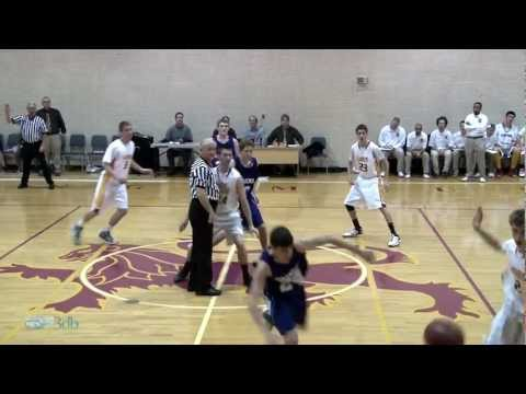 Shining Mountain Waldorf School Boys Varsity Basketball vs. Jim Elliot Highlights:  02/23/12